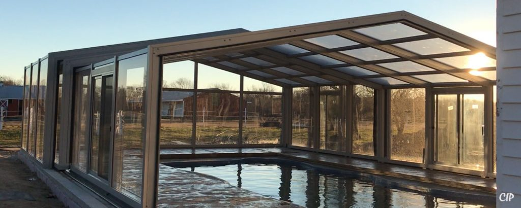 New Zealand Retractable Pool Enclosures Opening