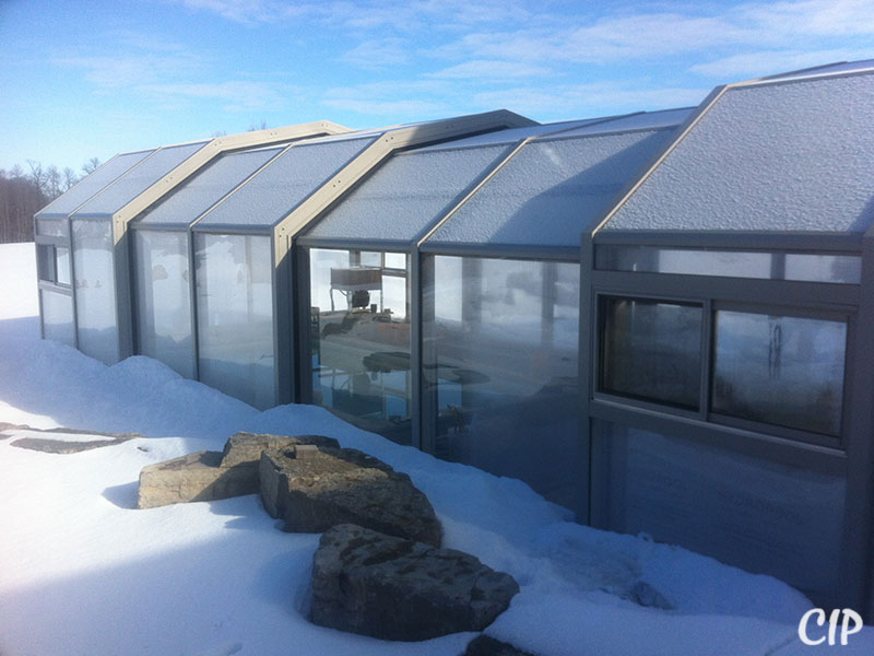 Retractable Pool Enclosure in Winter New Zealand