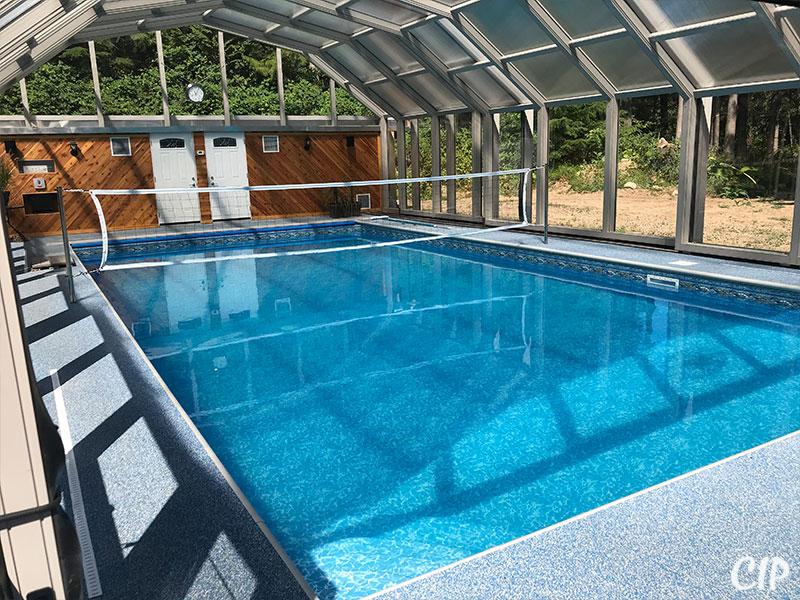 Pool Enclosure Volley Ball New Zealand